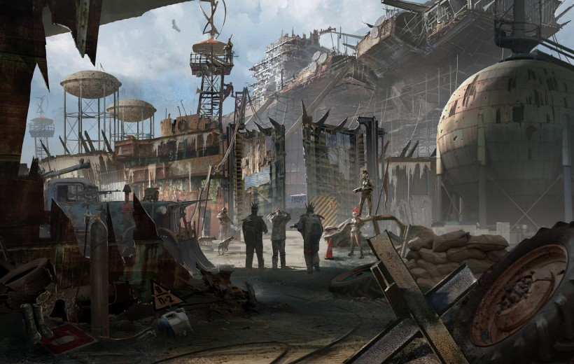 Post Apocalyptic Village